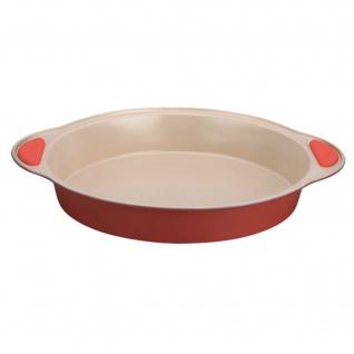 Euro Lady EL-RKP23: Keramikbeschichtetes Antihaft-Backgeschirr Red