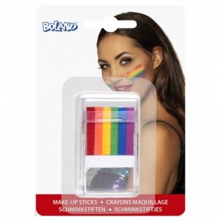 make-up Stick Regenbogen 6-in-1