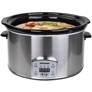 """Digitaler Slow Cooker 8, 0 Liter mit Timer """""""