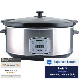 """Digitaler Slow Cooker 6, 5 Liter mit Timer """""""