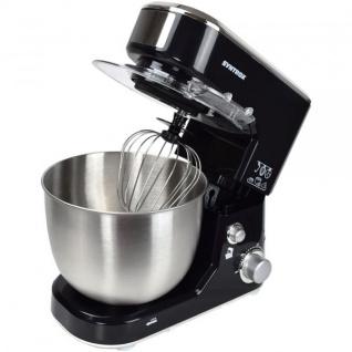 Syntrox Küchenmaschine Knetmaschine Mixer, Edelstahl-Behälter, 5 Liter