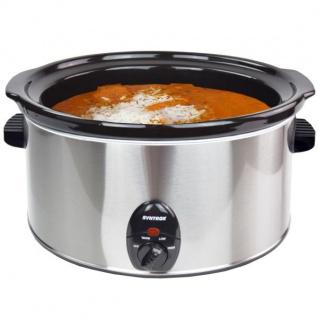 """8, 0 Liter Edelstahl Slow Cooker mit Warmhaltefunktion """""""