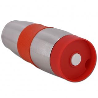 Cenocco CC-6000: Edelstahl-Vakuumreisebecher Red