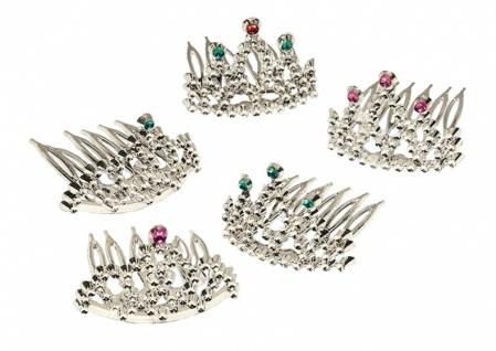 diadem Prinzessin Silber 6 Stück