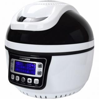 Turbo-Heißluftfritteuse Heißluftgarer Airfryer Küchenmaschine mit LED-Display 10 Liter Garraum, max.