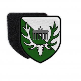 Patch JgBtl 1 Berlin Jägerbataillon Aufnäher Bundeswehr Wappen Klett #35968