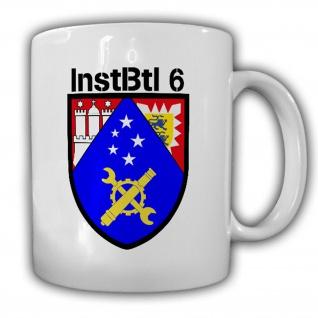 InstBtl 6 Instandsetzungsbataillon Emblem Instler Wappen Reservist Tasse #16361