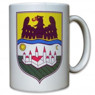 Donauschwaben Siedlung Wappen Abzeichen Emblem - Tasse Kaffee #11368
