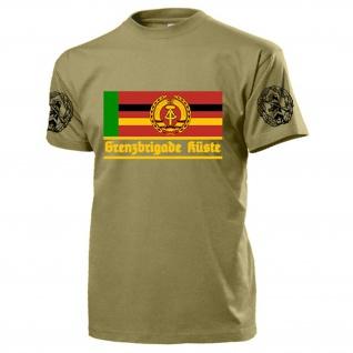 GBK Grenzbrigade Küste Veteran DDR NVA Ostdeutschland Wache - T Shirt #17533