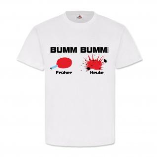 Bumm Bumm 80er 70er 90er Jahrzehnte Eis Explosion Nostalgie T-shirt #19641