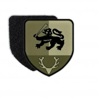 Patch PzGrenBtl 12 Panzergrenadier Bundeswehr Zeichen Symbol 7, 5 x 6, 5 cm #36355