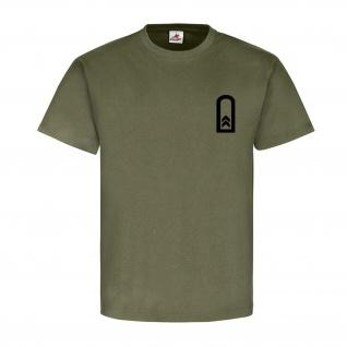 Oberfeldwebel Dienstgrad Bundeswehr BW Abzeichen Schulterklappe T Shirt #15888
