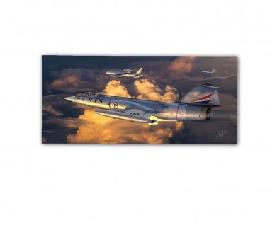 Poster rOEN911 F-104G Starfighter Royal Norwegian Air Force ab30x14cm#30701