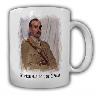 Sir Adrian Carton de Wiart britischer Generalleutnant England Great #14151
