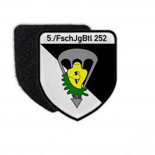 Patch 5- FschJgBtl 252 Fallschirmjägerbataillon Kompanie Nagold Wappen #26655