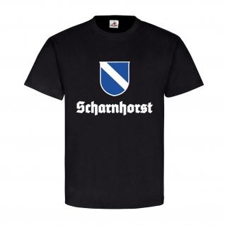 Schlachtschiff Scharnhorst Crew Wappen Abzeichen Emblem Marine T-Shirt #17830