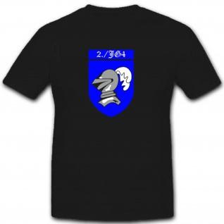 2 Jagdgeschwader 4 Luftwaffe WK 13Z JG4 Militär WH T Shirt #2464