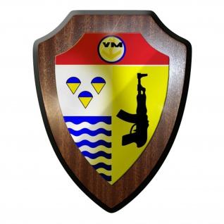 Wappenschild / Wandschild / Wappen - DDR NVA Kampfschwimmer Wappen #8938