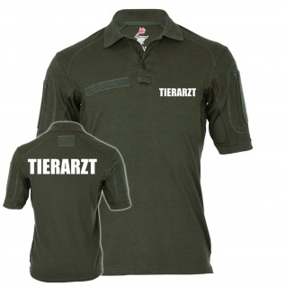 Tactical Polo Alfa Tierarzt Praxis Doktor Tierklinik Berufsbekleidung #23335