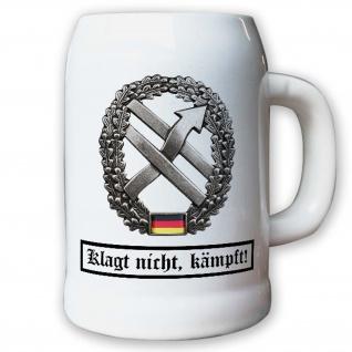Krug / Bierkrug 0, 5l -Barettabezeichen PSV OpInfo Psychologische #10927