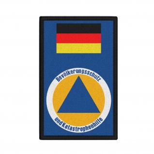 Patch Zivilschutz Deutschland Katastrophenhilfe Amt Wappen Abzeichen #36631 - Vorschau