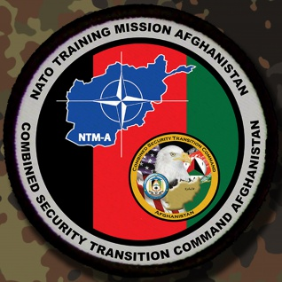 Patch / Aufnäher - Training Misson Afghanistan - Combined Security #7870