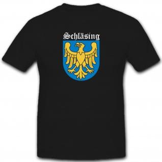 Schläsing Wappen Adler Abzeichen Emblem - T Shirt #2969