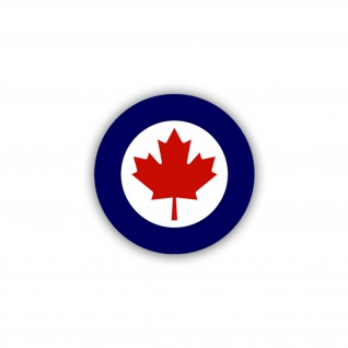 Aufkleber/Sticker Korkade Kanada Royal Canadien Air Forces Army 7x7cm A2115