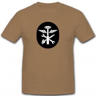 Technischer Panzerdienst Abzeichen NVA DDR Militär Emblem Wappen - T Shirt #7930