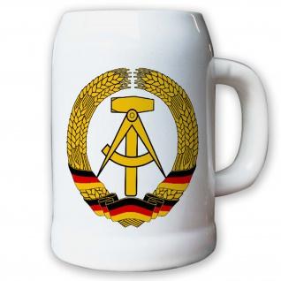 Krug / Bierkrug 0, 5l - DDR Deutsche Demokratische Republik Fahne Flagge #9412