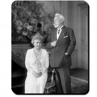 Kaiserpaar Wilhelm II Gattin 1933 Fotografie Kaiser Monarch Mauspad #16390