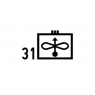 Taktisches Zeichen JaboG 31 Aufkleber ZDv 1-11 Militär 26x15cm#A5614