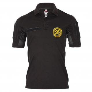 Tactical Poloshirt Alfa Barettabzeichen PSV Truppe BW psychologie #19384