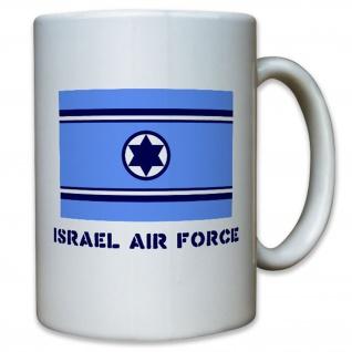 Israelische Luftwaffe Israel Air Force Wappen Abzeichen Fahne - Tasse #12699
