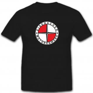 Eisenacher Motorenwerke Oldtimer Eisenach Wappen Logo Emblem - T Shirt #7237