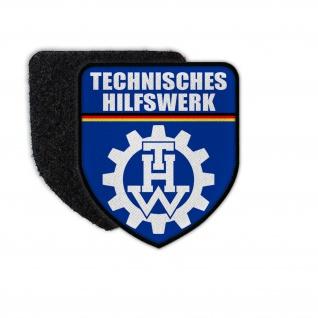 Patch Technisches Hilfswerk THW Abzeichen Aufnäher Zivilschutz #33602
