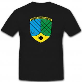 Fernmeldebataillon 130 Bundeswehr Bund Bw Wappen Deutschland - T Shirt #9369