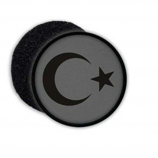 Türkische Flagge Patch Aufnäher Islam Kultur Wappen Siegel #22947