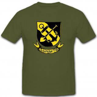 Schwere Pionierbataillon 718 Bundeswehr Militär Einheit Wappen T Shirt #2599