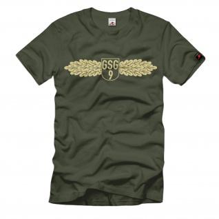 GSG9 Bundesgrenzschutz Zoll Bundespolizei Kontrolle Kriminalität T Shirt #1457