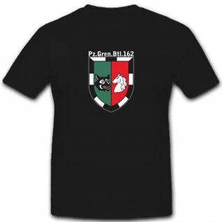 PzGrenBtl162 Panzergrenadierbataillon 162 Wappen Abzeichen Emblem T Shirt #3489