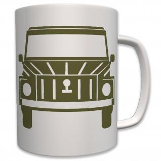 Kübelwagen 181 BW militärischer Geländewagen Bundeswehr Bw - Tasse #6621