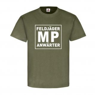 Feldjäger MP Anwärter Bundeswehr Militär Polizei Military Police T Shirt #13617