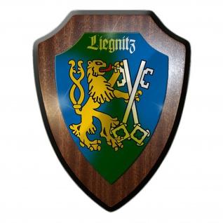 Wappenschild Liegnitz Schlesien Wappen Abzeichen Heimat Deutschland Polen #23590