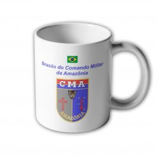 Brasao do Comando Militar da Amazonia Brasilien Armee Amazonas Tasse #33407