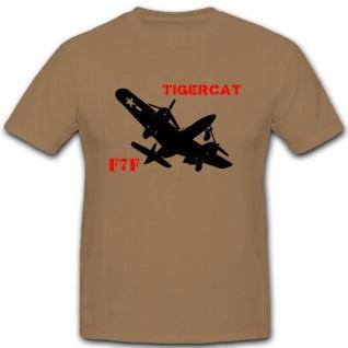 F7f Tigercat Angriffs Flugzeug Jagdflugzeug Grumman Luftwaffe T Shirt #3159