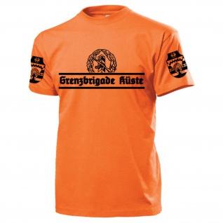 Grenzbrigade Küste GBK Veteran Typ2 DDR NVA Ostdeutschland - T Shirt #17535