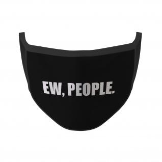 Mund Maske Ew, People Statement ich hasse Menschen Lustig Fun Humor #35336