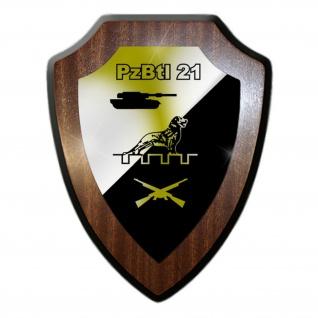 Wappenschild PzBtl 21 Panzerbataillon Einheit Wappen Militär #19467