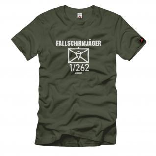 Fallschirmjäger 1-262 FschJgBtl Kompanie Taktisches Zeichen T-Shirt#37020